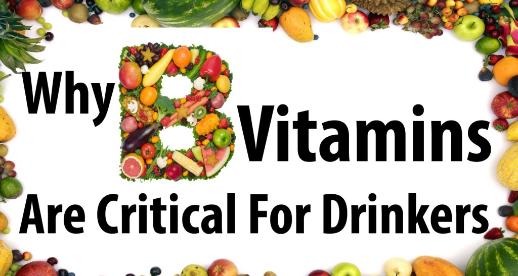 alcohol and b vitamins